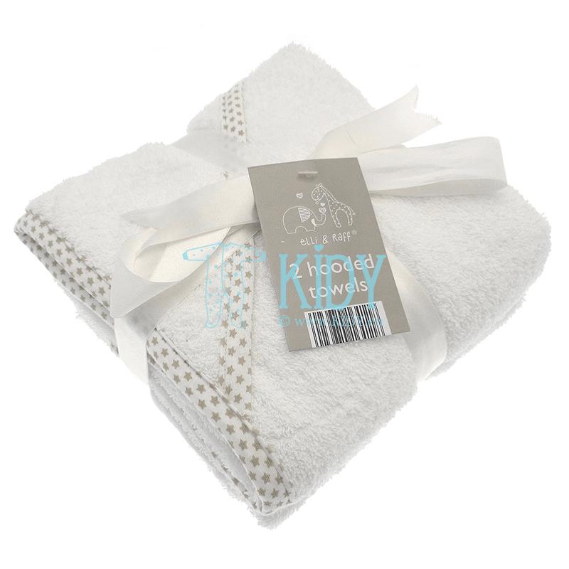 Komplektas Elli & Raff: 2 rankšluosčiai su gobtuvu