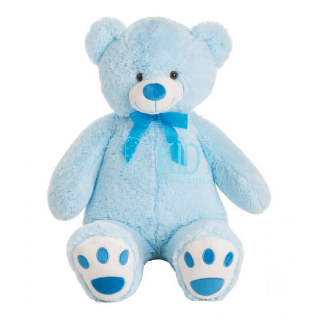 Blue plush bear