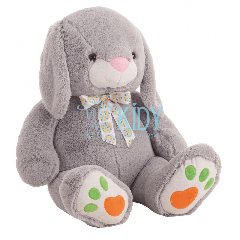 Grey plush rabbit DIDO