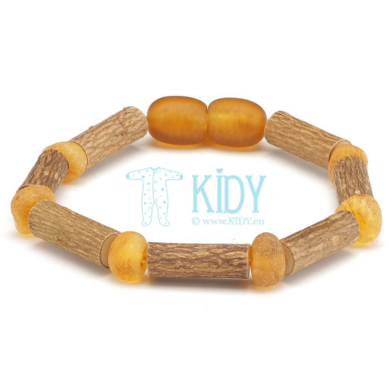 Amber HONEY teething bracelet (Baltic Amber)