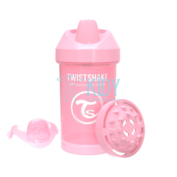 LIGHT PINK SIPPY CUP CRAWLER