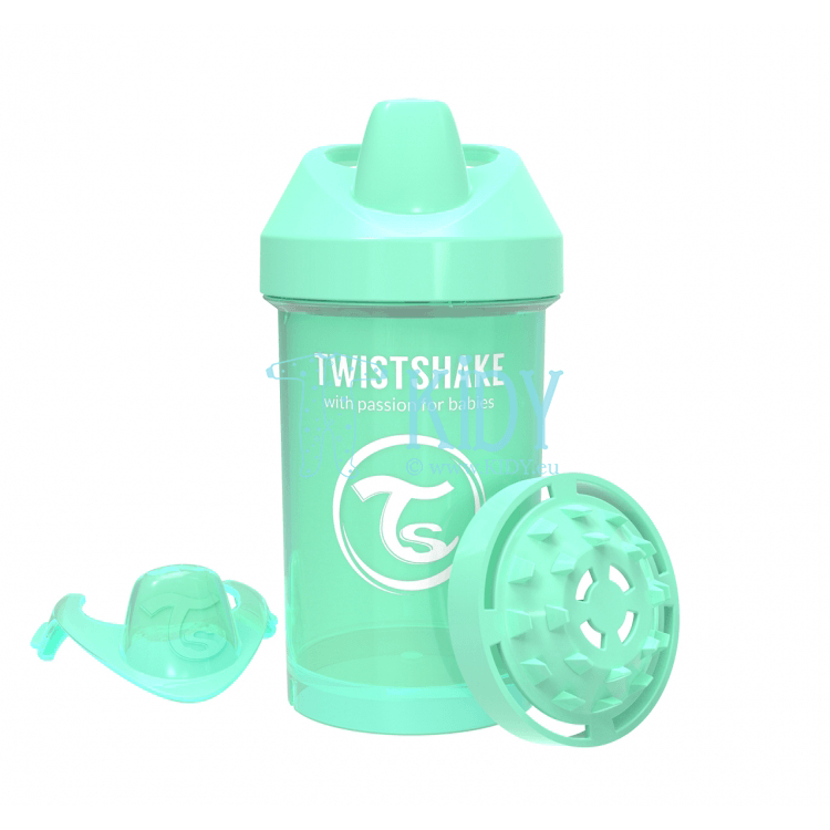 MINT GREEN SIPPY CUP CRAWLER