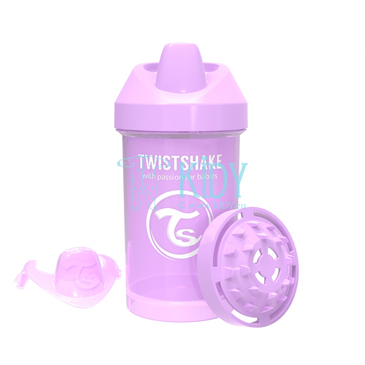 Lilac SIPPY CUP CRAWLER