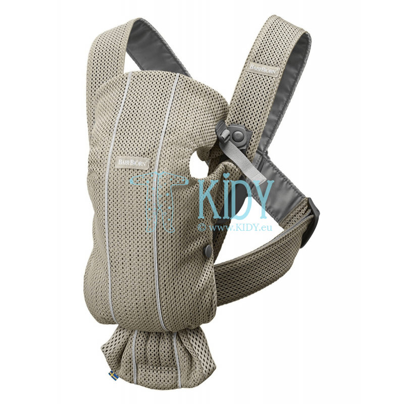 Baby carrier Mini Greige 3D Mesh