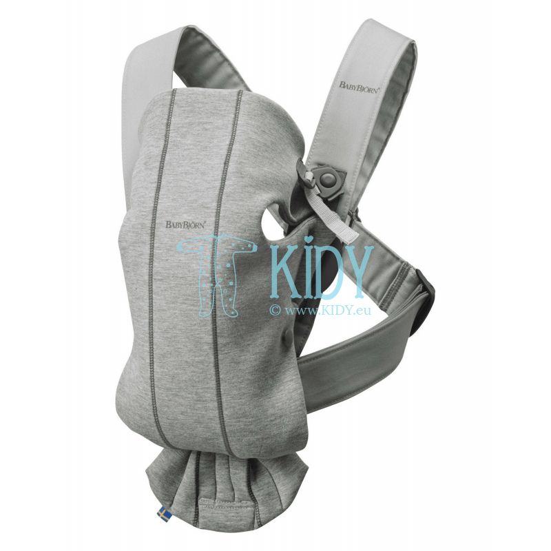 Nešioklė Mini Light Grey 3D Jersey