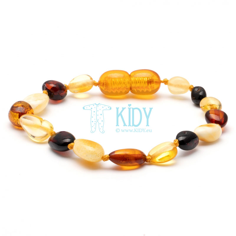 Amber MULTI teething bracelet