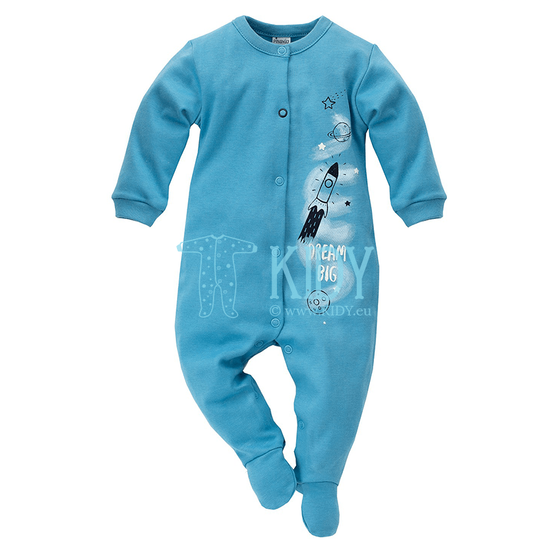 Blue BIG DREAM sleepsuit