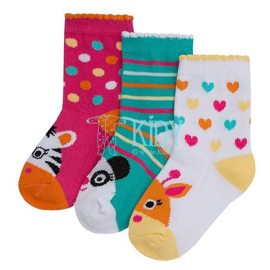 ZOO socks set: 3 pairs