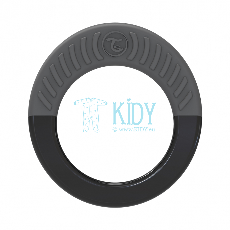 Black teething RING
