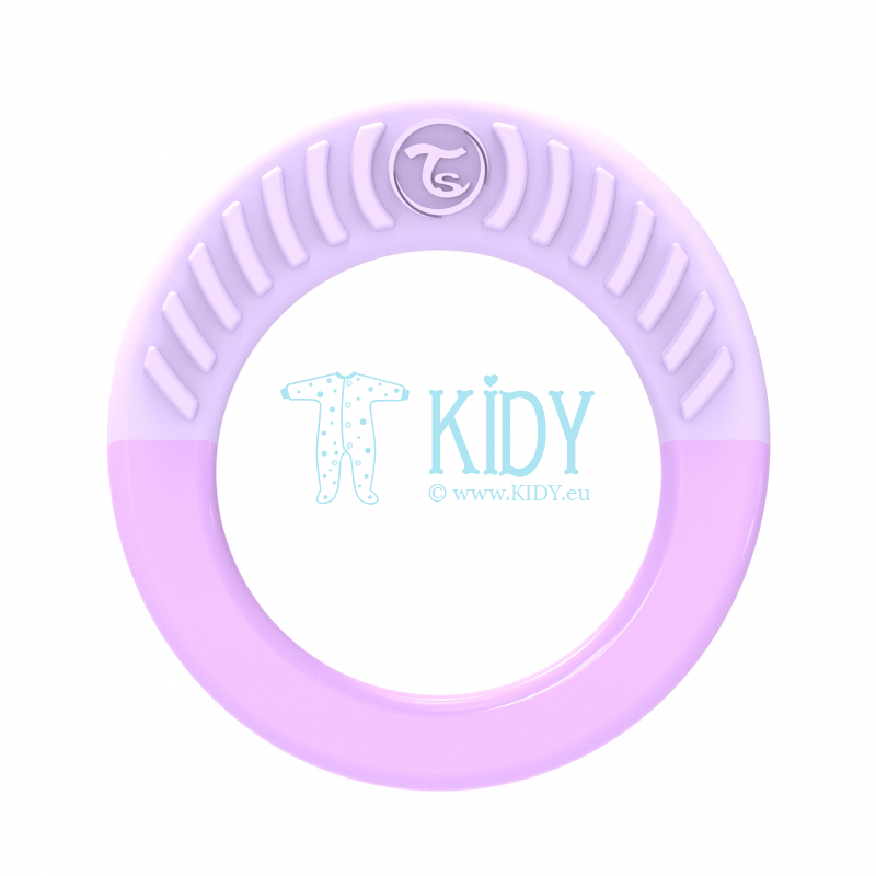 Purple teething RING