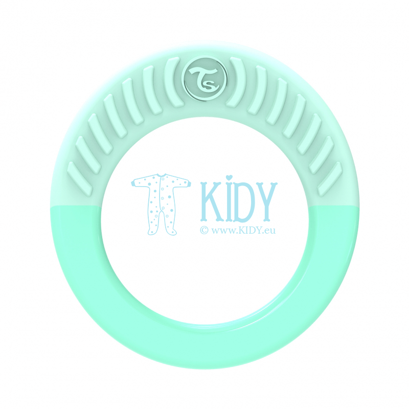 Green teething RING MINT GREEN