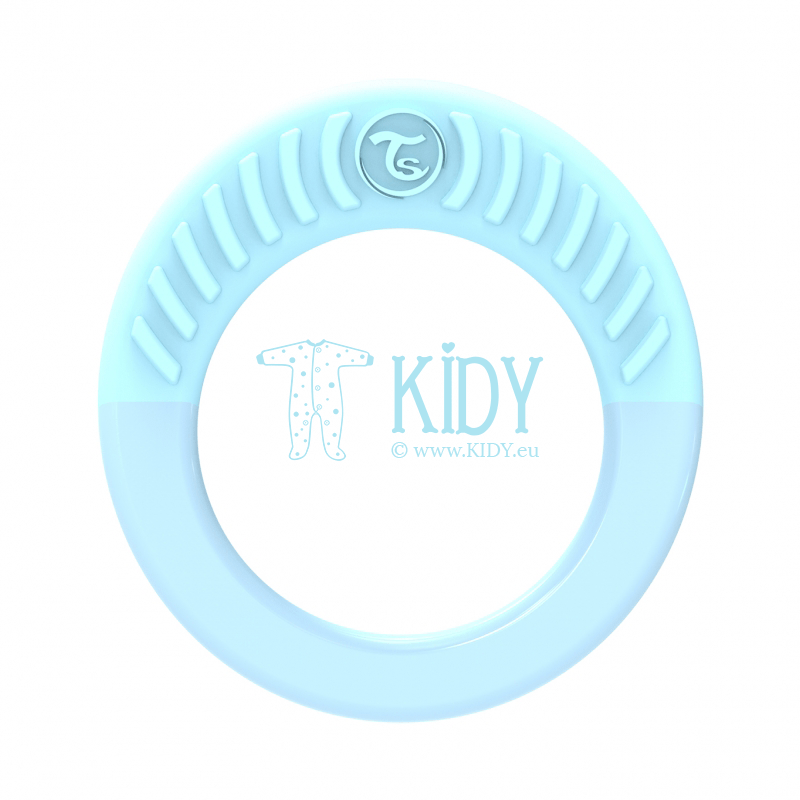 Blue teething RING