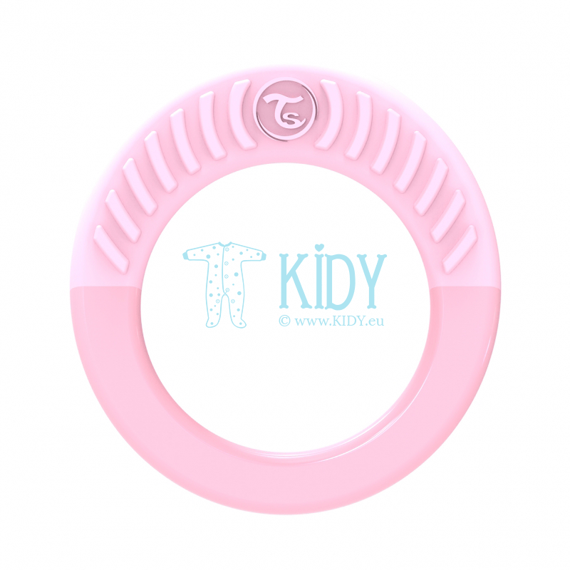 LIGHT PINK teething RING