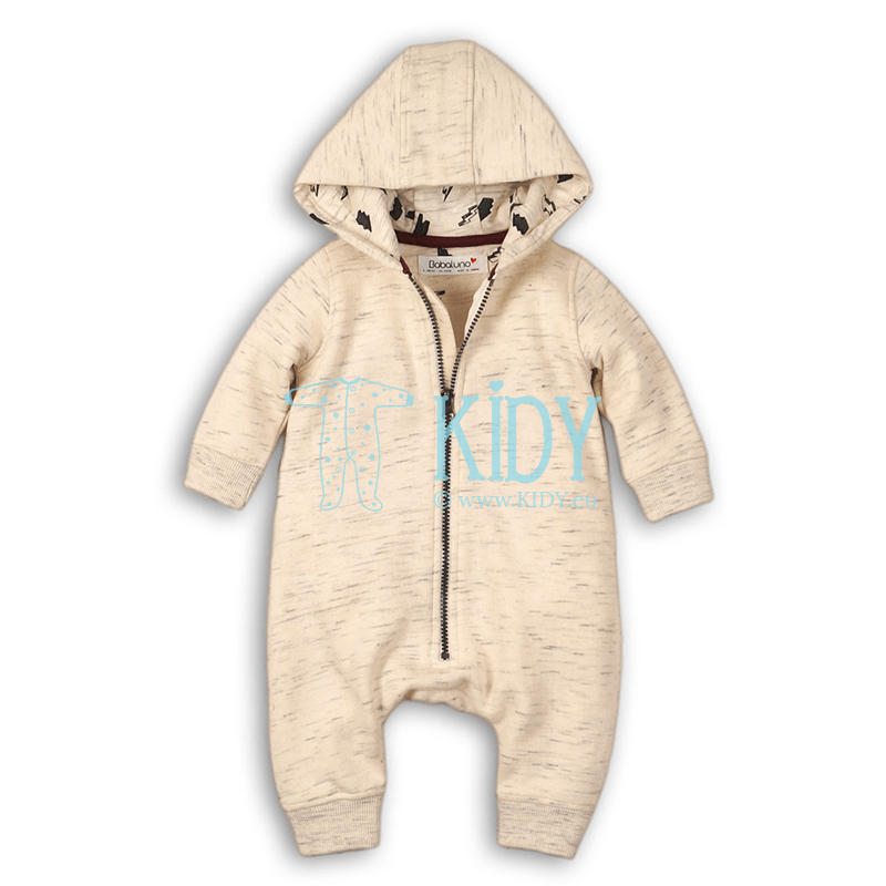 Beige BOLT overall