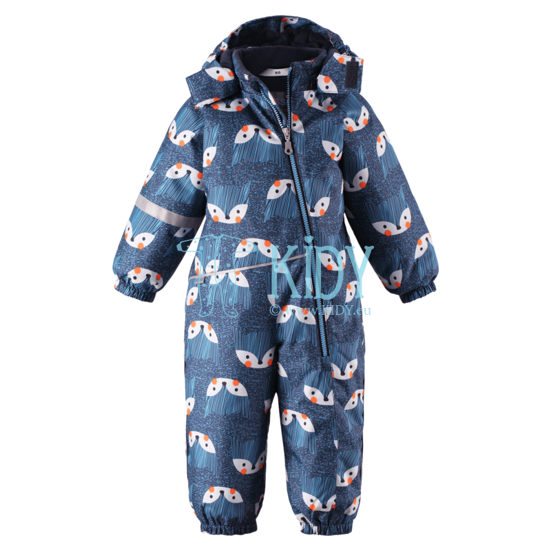 Blue FOXES snowsuit