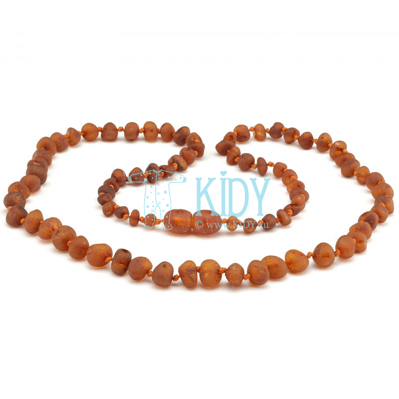 Amber COGNAC necklace