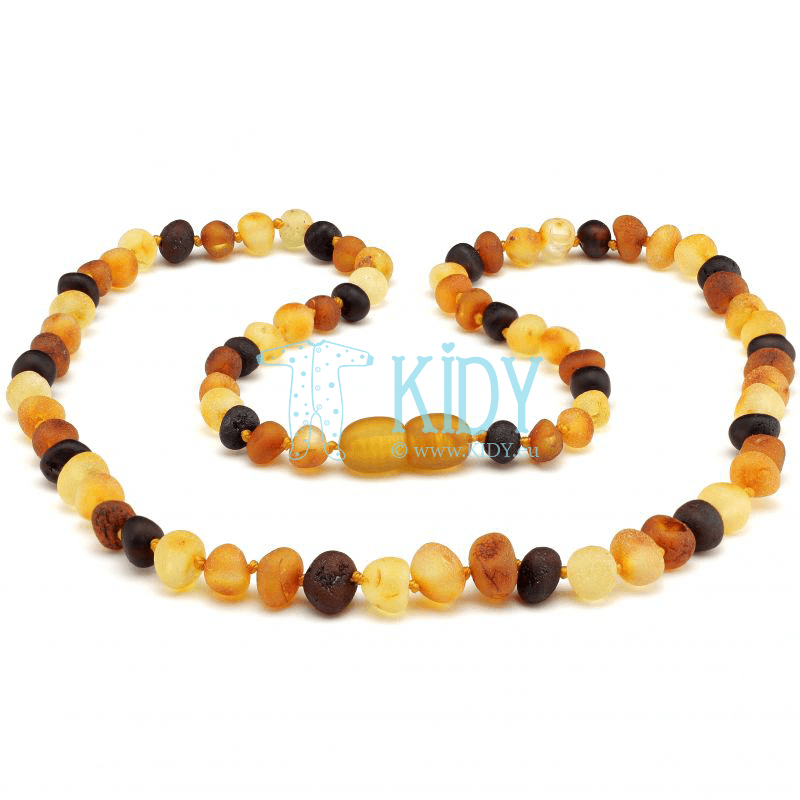 Amber MULTI necklace (Baltic Amber)