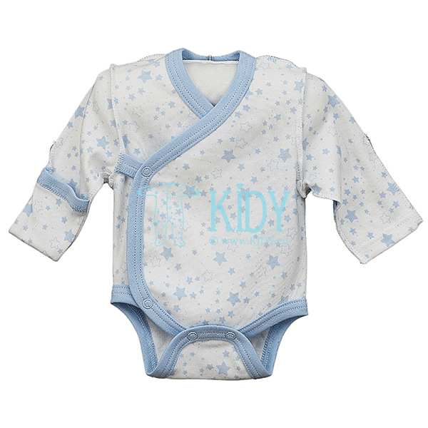 Голубой боди-кимоно PIMKY