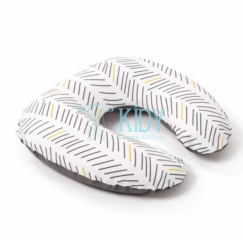 Softy Ethnic Anthracite nursing pillow