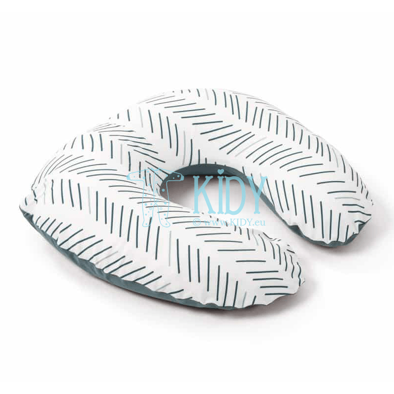 Nursing Softy Ethnic Petrol pillow