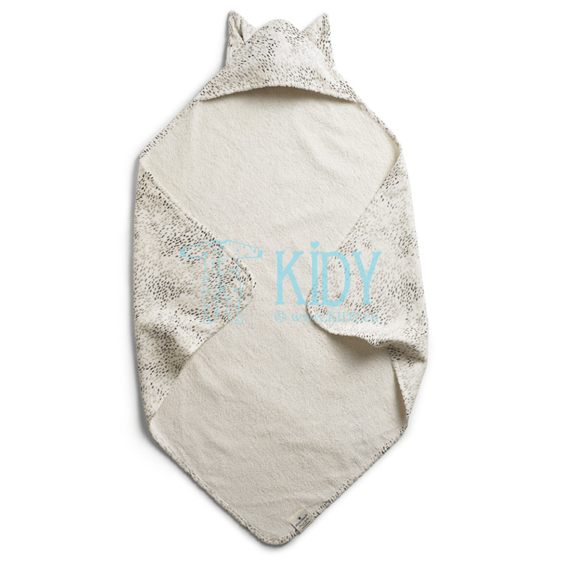 Hooded DOTS OF FAUNA towel (Elodie Details)