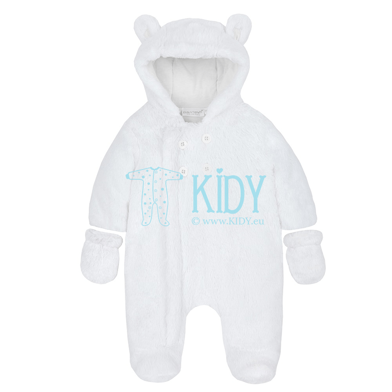 White BEAR snowsuit (Baby Town)