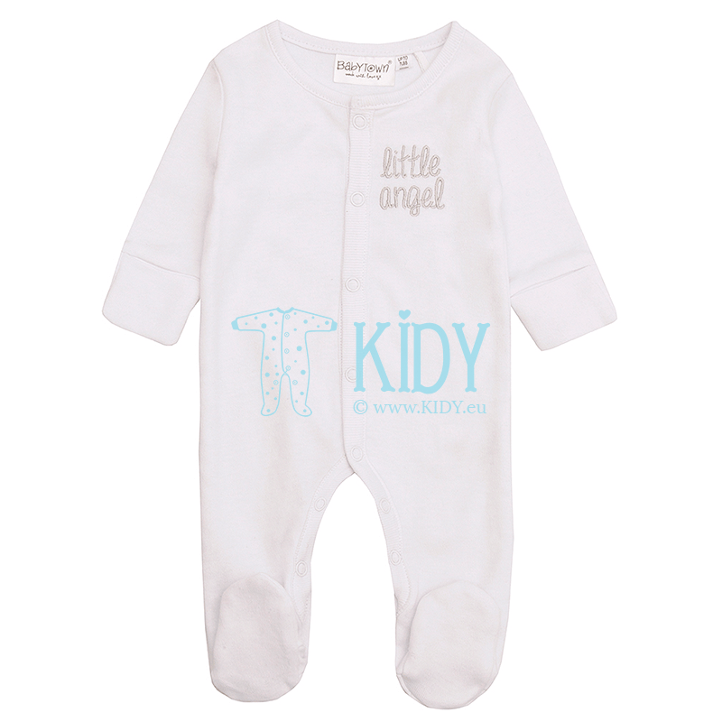 White ANGEL sleepsuit