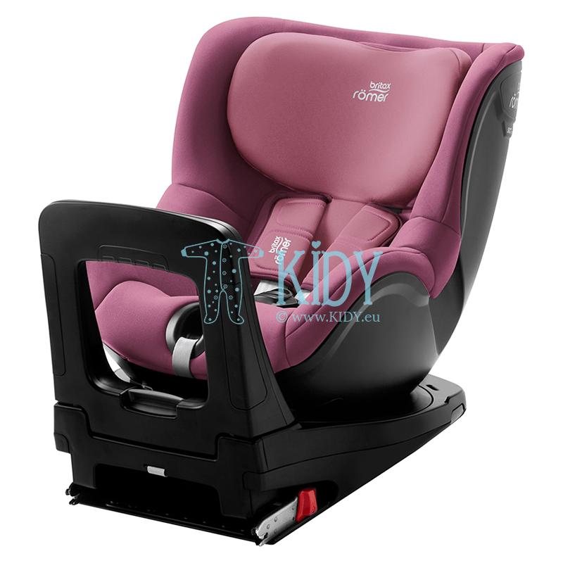 Automobilinė kėdutė DUALFIX i-SIZE BR Wine Rose ZS SB