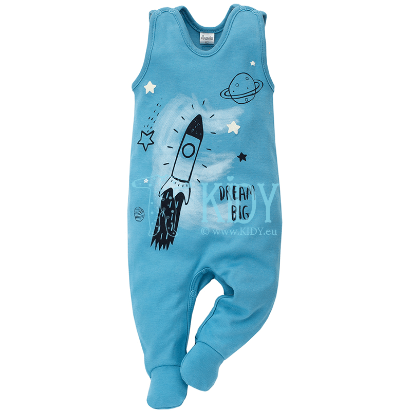 Blue BIG DREAM dungaree