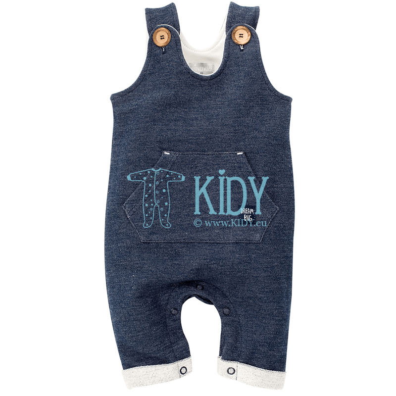 Navy BIG DREAM dungaree