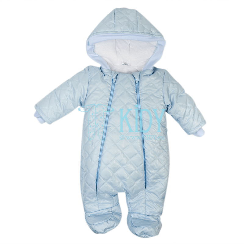 Blue quilted ARTEX snowsuit
