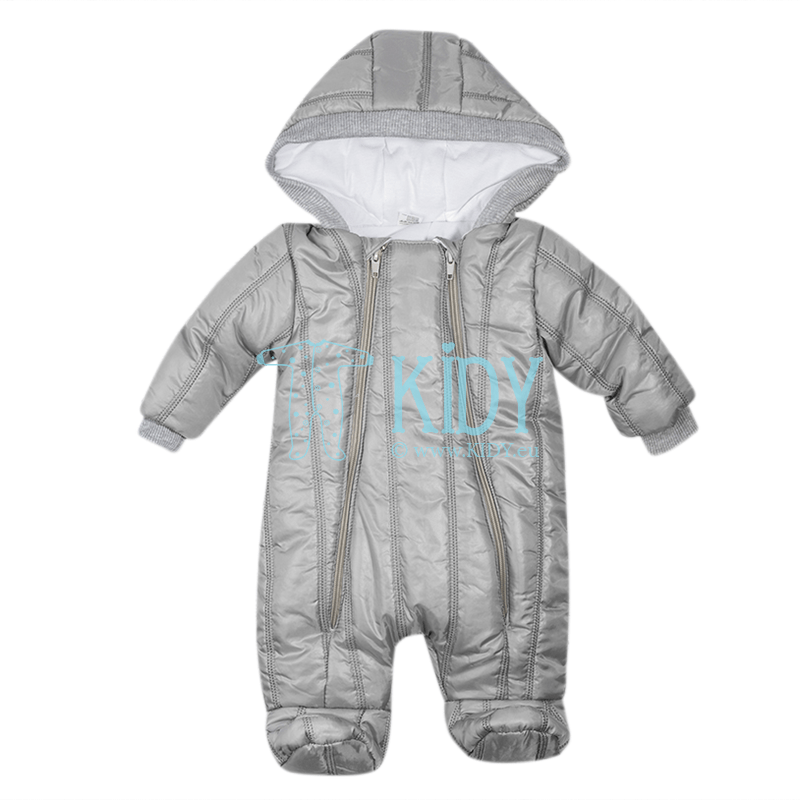 Grey quilted ARTEX snowsuit