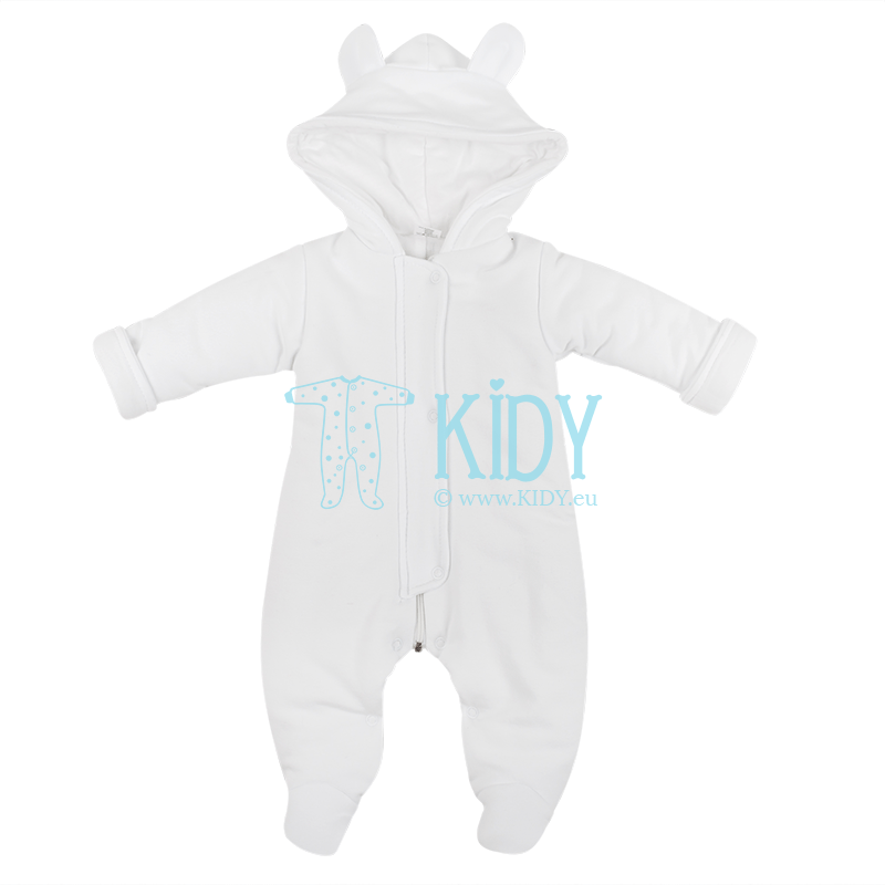 White ARTEX snowsuit