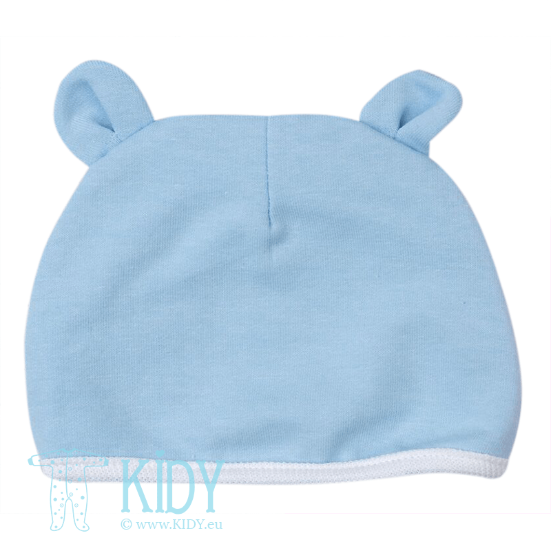 Blue hat with EARS