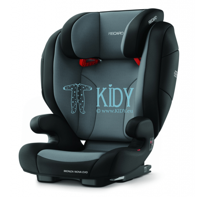 Car seat Monza Nova Evo Seatfix Carbon Black