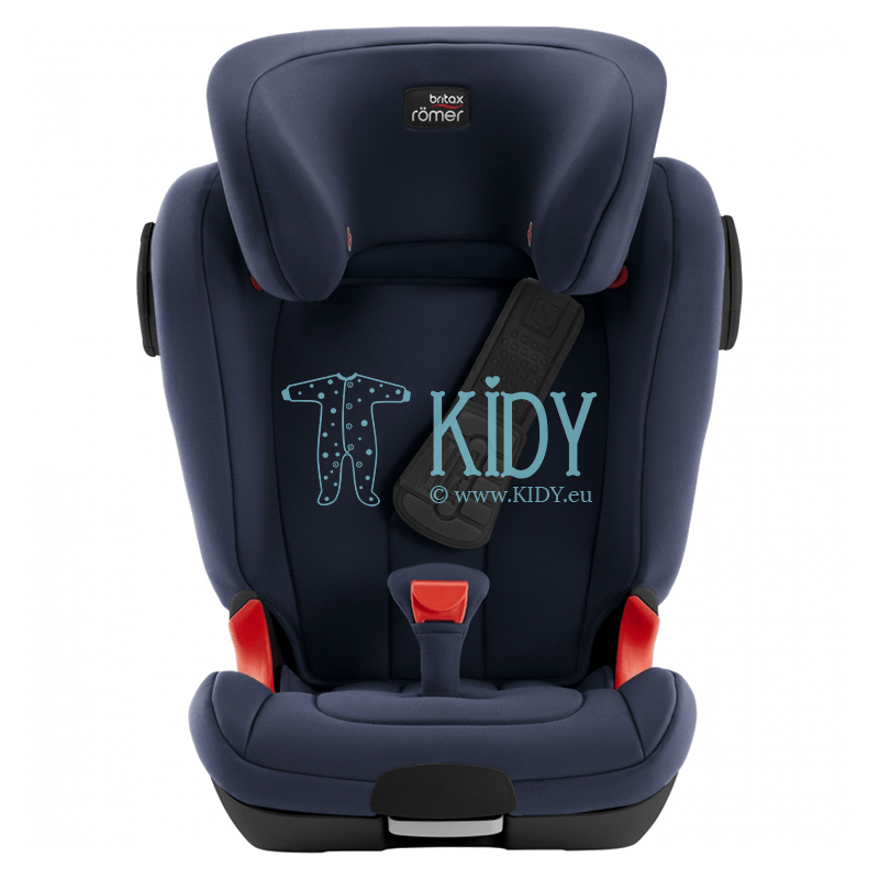 Automobilinė kėdutė KIDFIX II XP SICT BR BLACK SERIES Moonlight Blue ZS