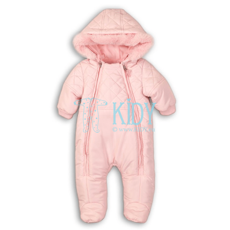 Pink PENGUIN snowsuit