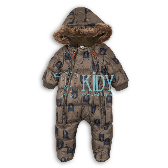 Brown ADVENTURE snowsuit