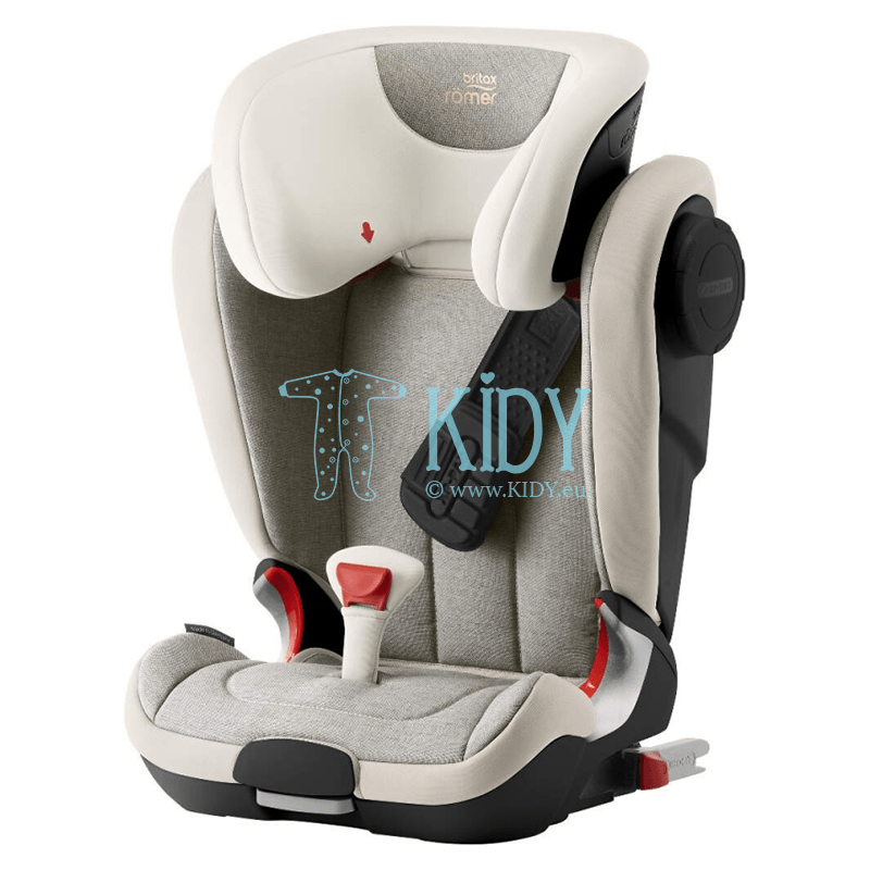 Car seat KIDFIX II XP SICT BR BLACK SERIES Sand Marble ZS SB