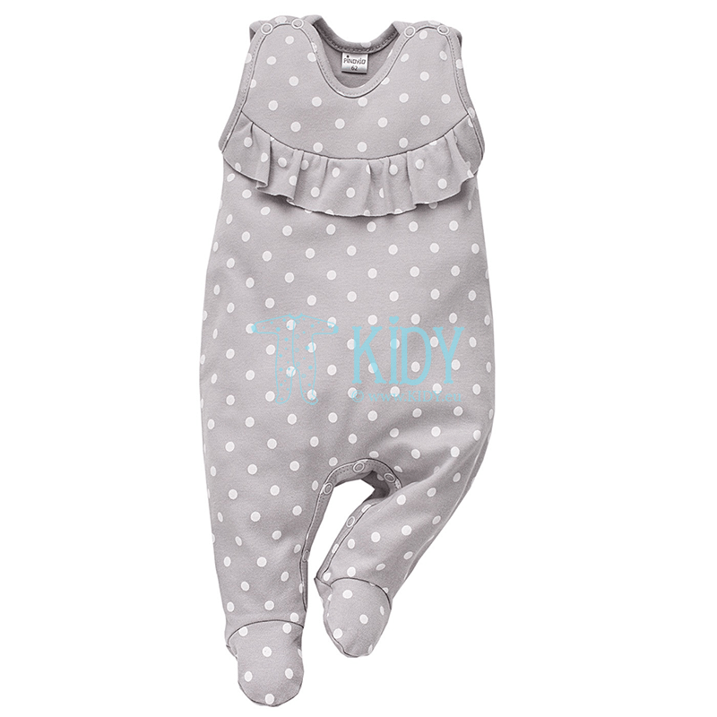 Grey UNICORN dungaree
