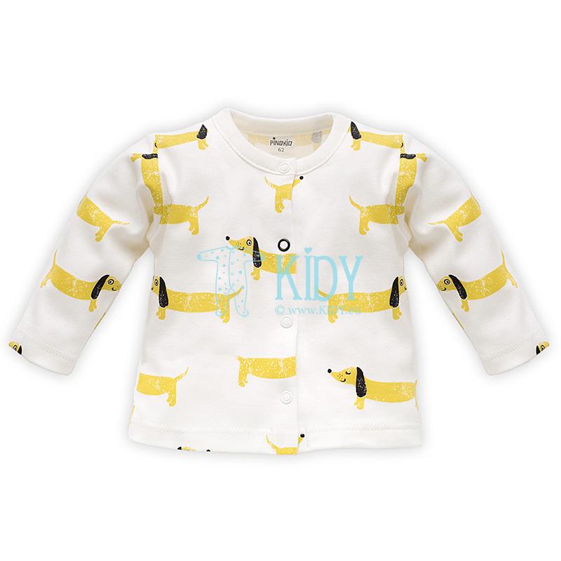 Ecru FUNNY DOG shirt
