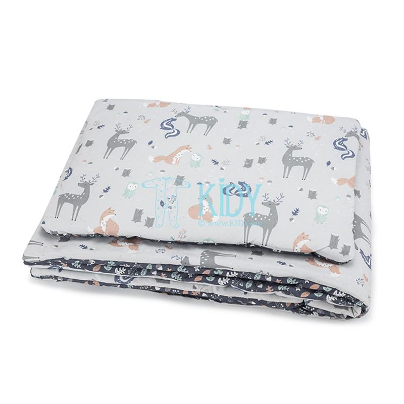 Patalynės komplektas Woodland: antklodė + pagalvė
