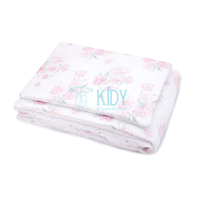 Bedding Peonie set: duvlet + pillow
