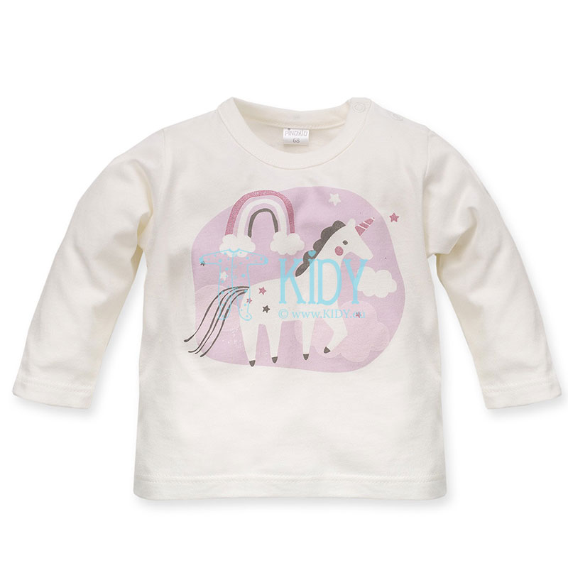 Ecru UNICORN top