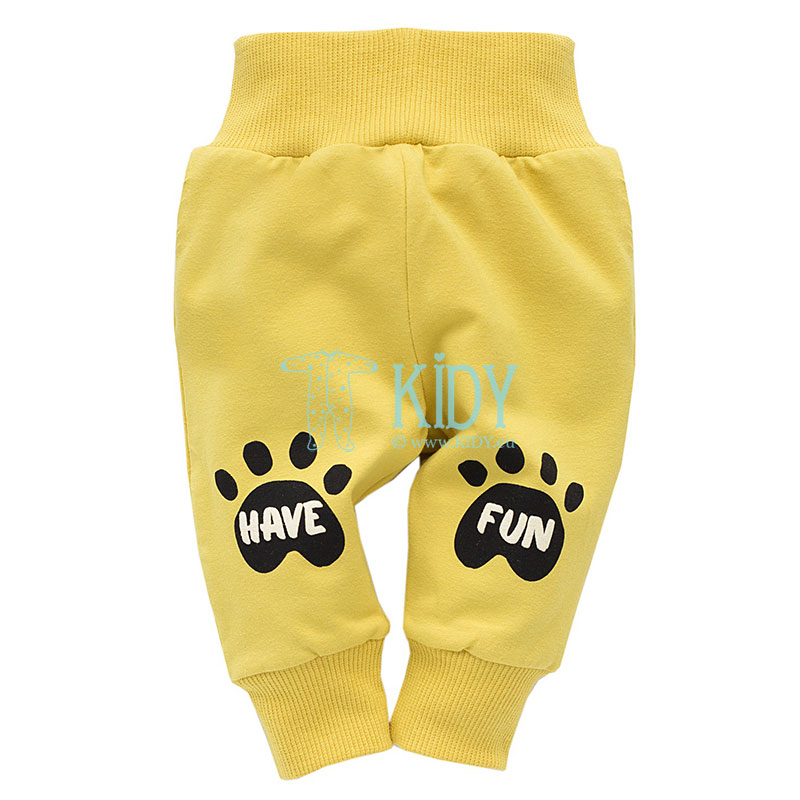 Lemon FUNNY DOG pants