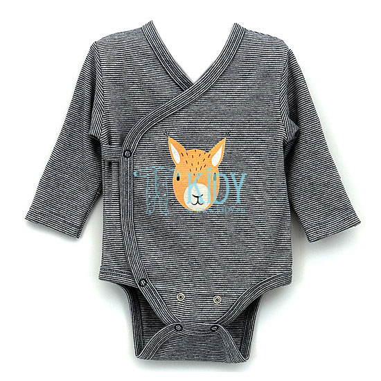 Grey MIPPY bodysuit