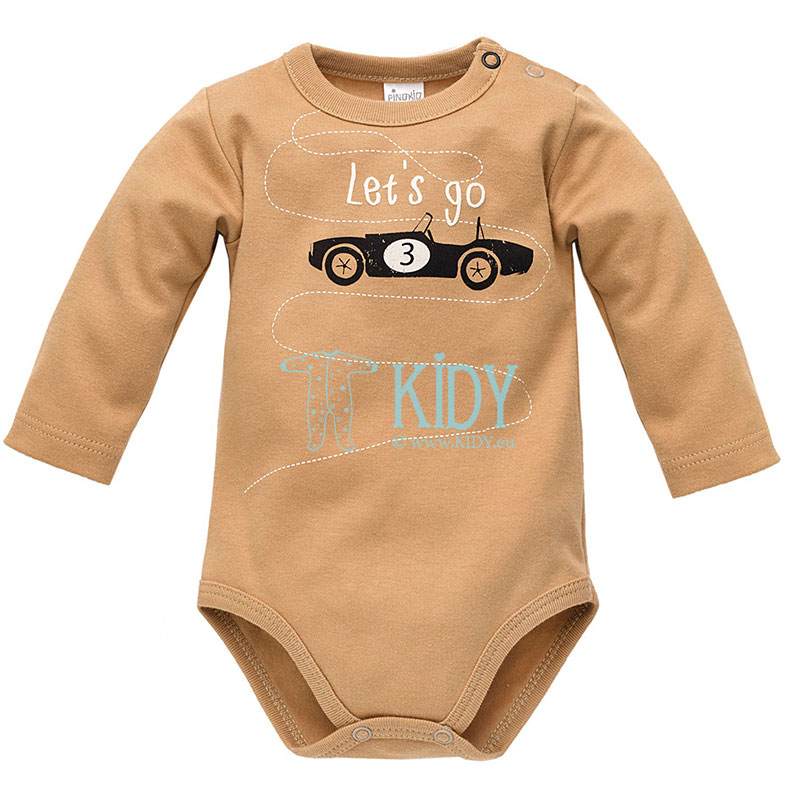 Brown OLD CARS bodysuit