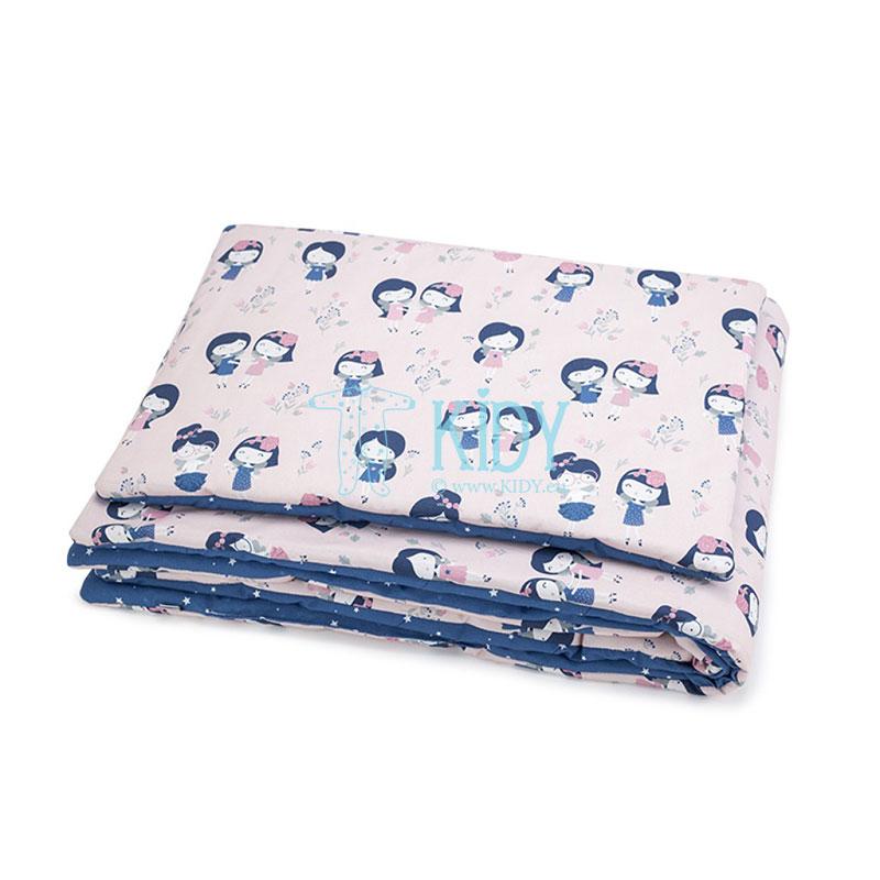 Patalynės komplektas Wróżki: antklodė + pagalvė