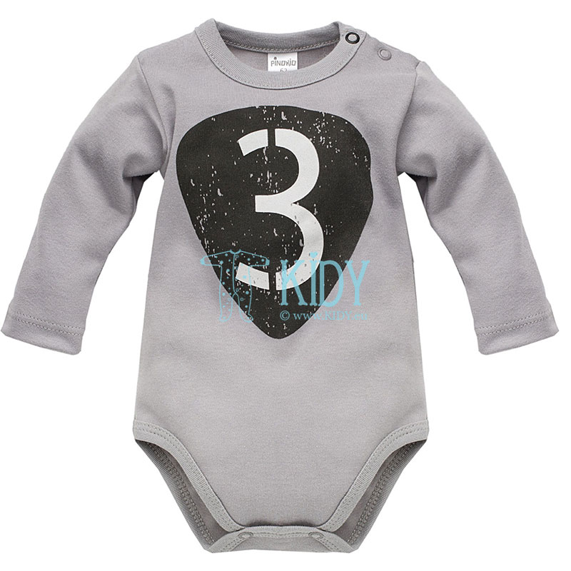 Grey OLD CARS bodysuit (Pinokio)