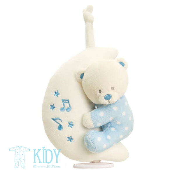 Bear on Moon musical toy (Keel Toys)